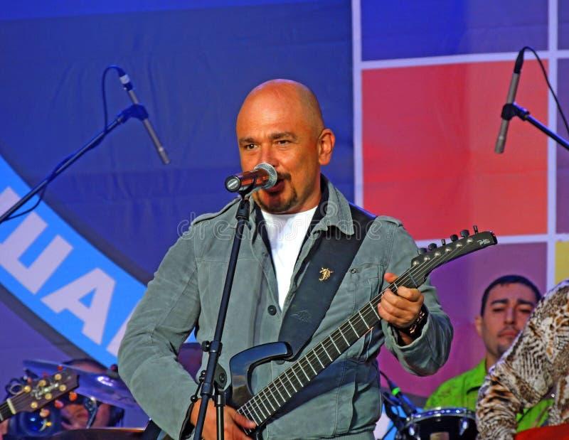 谢尔盖·特罗菲莫夫 昌森2012年莫斯科,卢日尼基 免版税库存照片