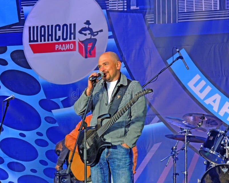谢尔盖·特罗菲莫夫 昌森2012年莫斯科,卢日尼基 免版税图库摄影