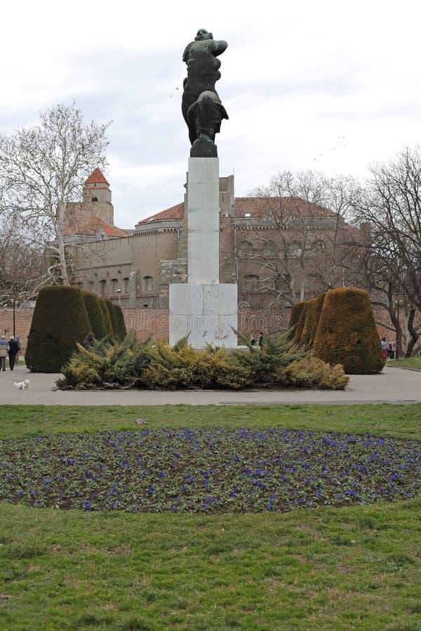 谢意的纪念碑向法国 免版税库存图片