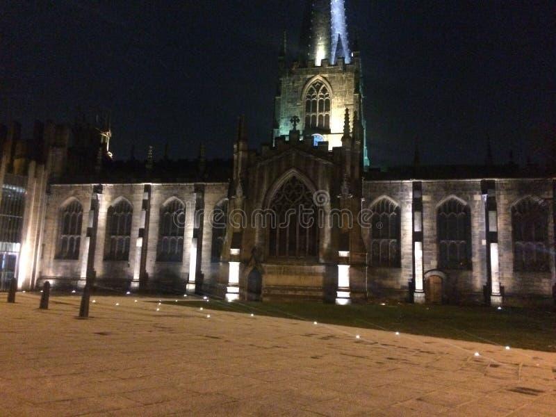 谢菲尔德大教堂 库存图片