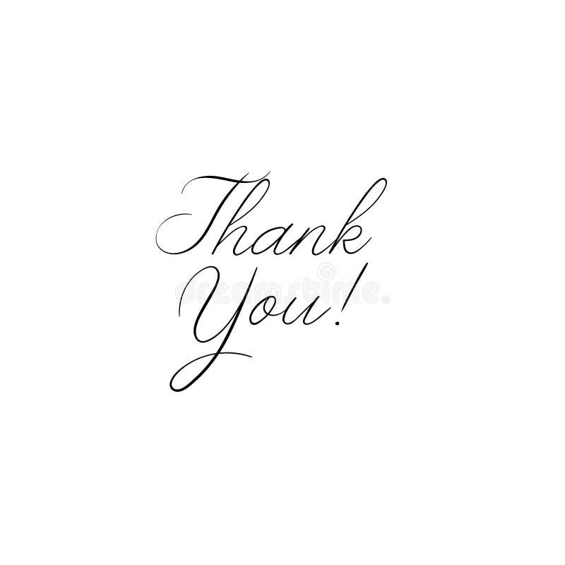 谢谢手写的题字 手拉的字法 谢谢书法 看板卡感谢您 也corel凹道例证向量 皇族释放例证