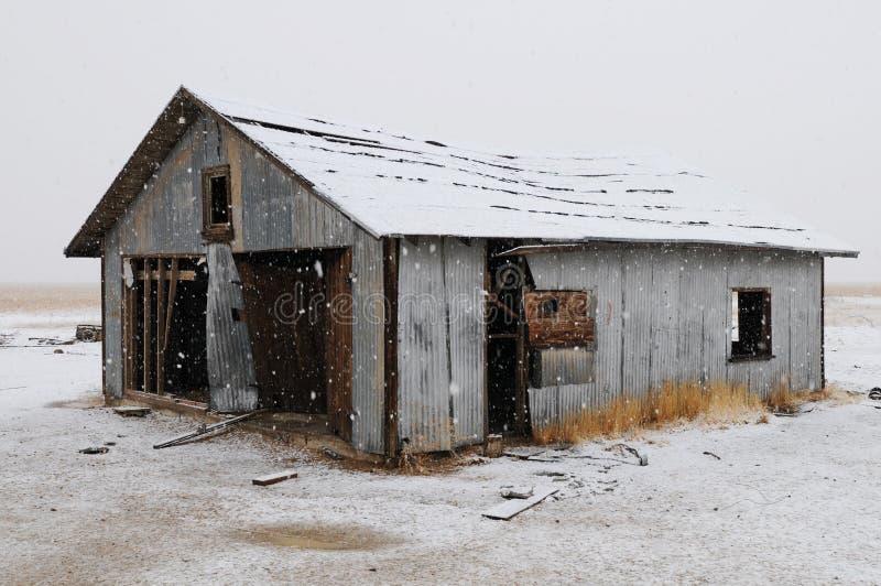谷仓 库存照片