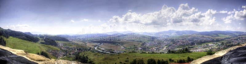 从谷城堡塔的美丽的景色  第四 库存图片