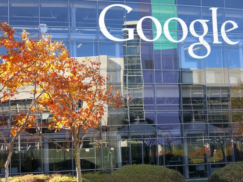 谷歌公司总部 免版税库存图片