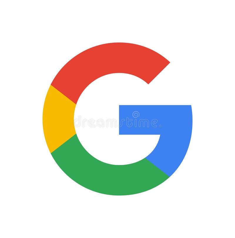 谷歌商标 皇族释放例证