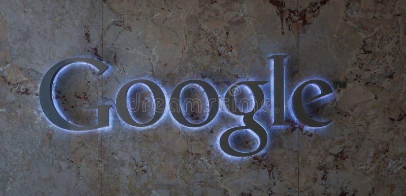 谷歌商标 免版税库存照片