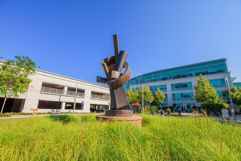 谷歌技术校园入口 免版税库存照片