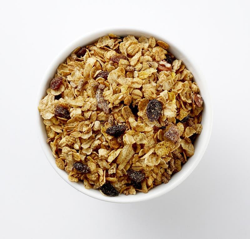 谷物早餐 免版税库存图片