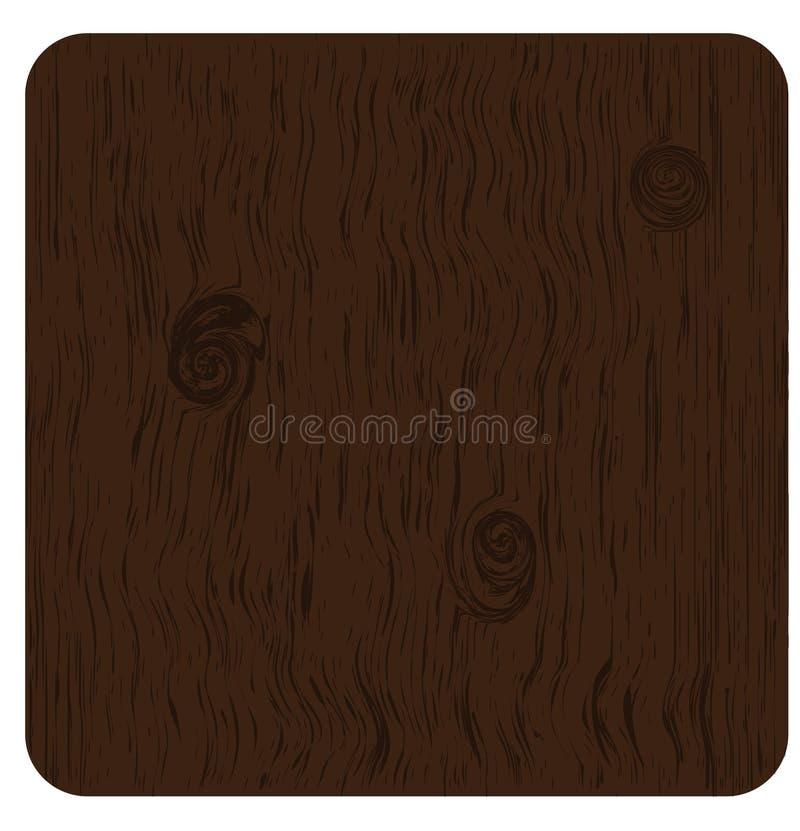 谷物木头 库存例证