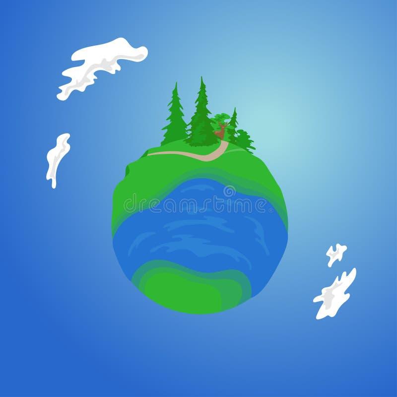 谷行星 免版税图库摄影