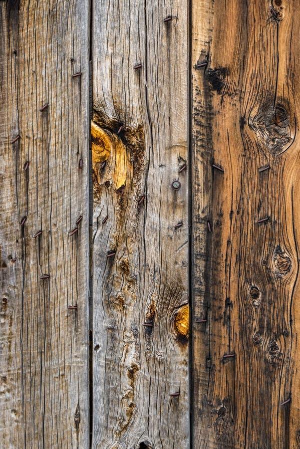 谷仓木墙壁背景纹理 库存图片