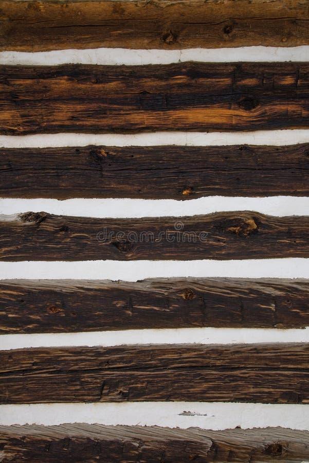 谷仓木墙壁背景纹理 免版税库存图片