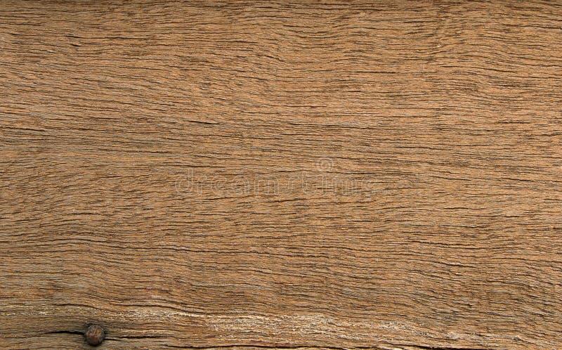 从谷仓的布朗木纹理 库存照片
