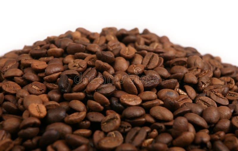 豆咖啡堆 库存图片