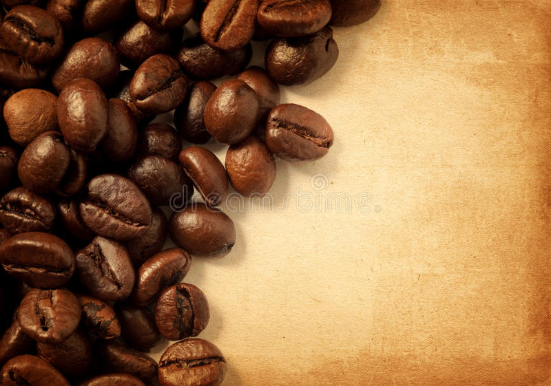 豆咖啡 免版税图库摄影