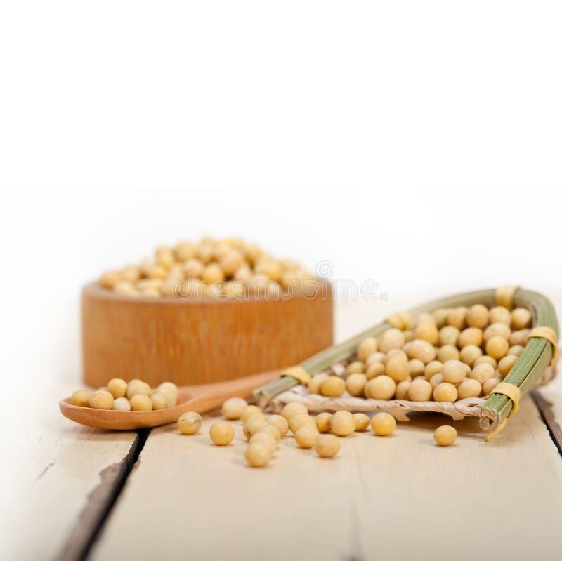 豆有机大豆 库存图片