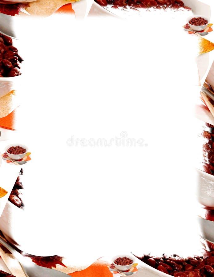 豆碗红色白色 免版税图库摄影