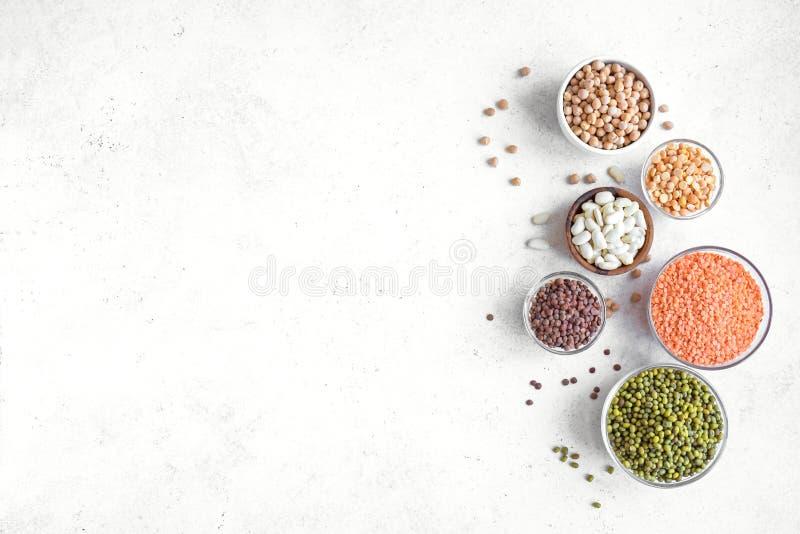 豆类分类 免版税库存图片
