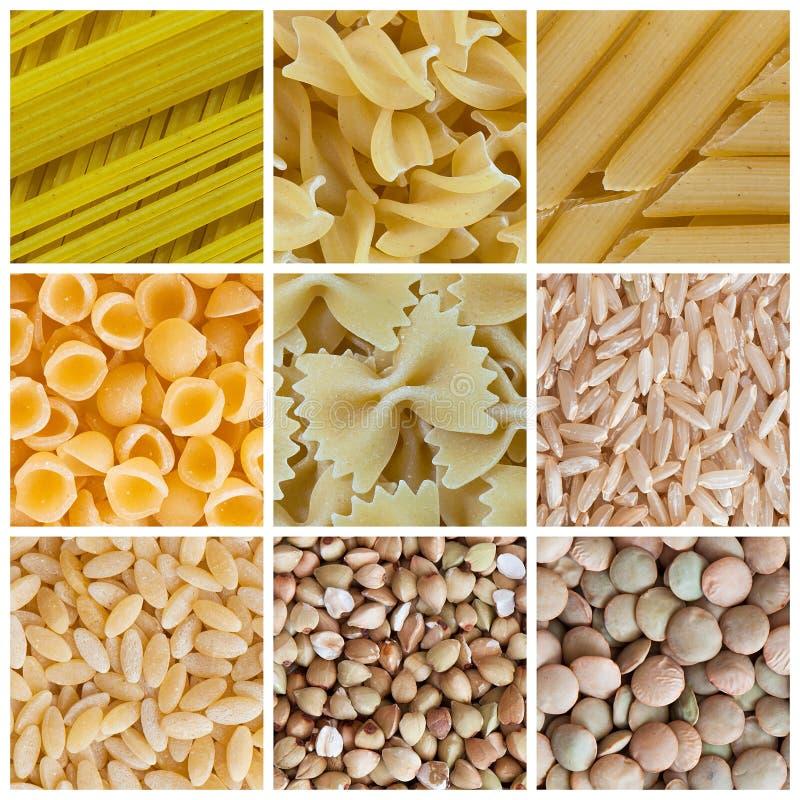 豆类意大利面食 库存图片