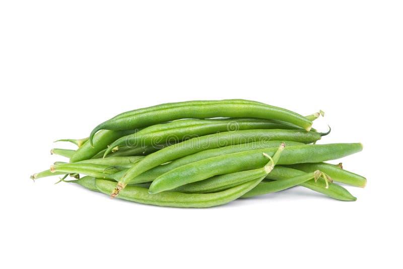 豆绿色字符串 免版税库存图片