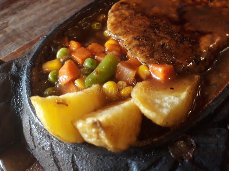豆腐如酥脆 免版税库存照片