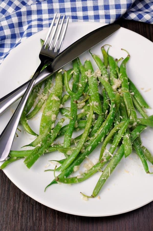 豆蔬菜沙拉 免版税库存图片