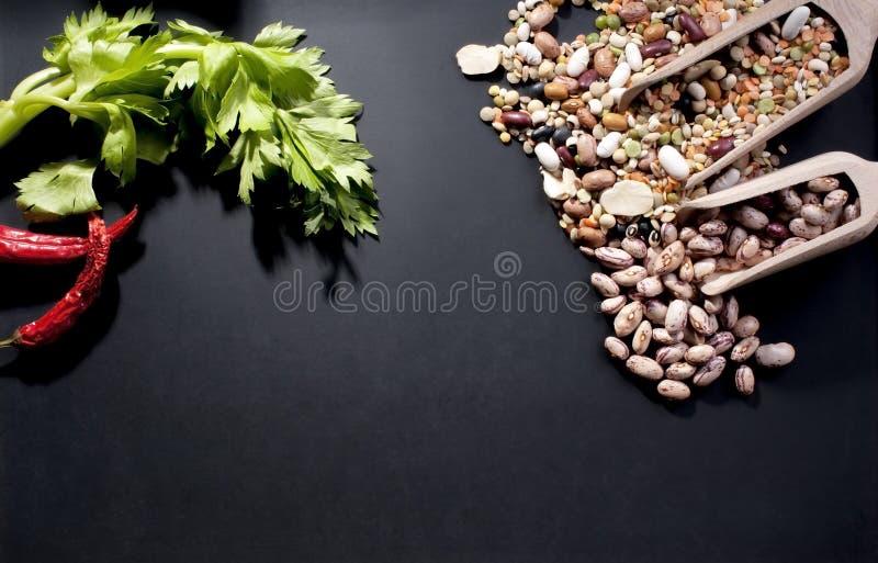 豆类 库存图片