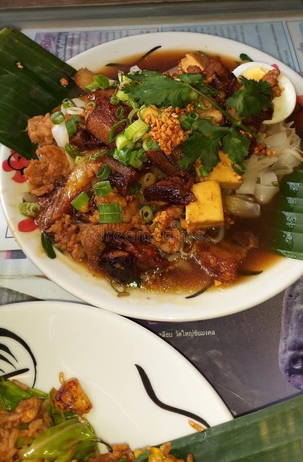 象一张美好的图片的可口泰国食物 免版税库存照片