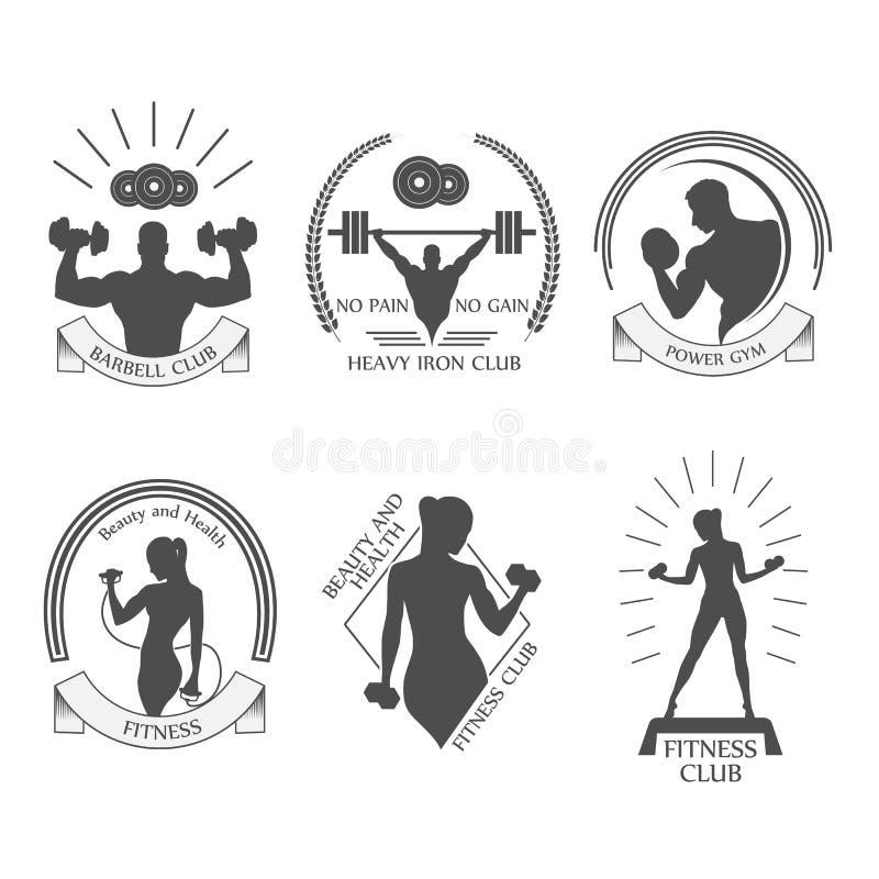 象健身俱乐部 皇族释放例证