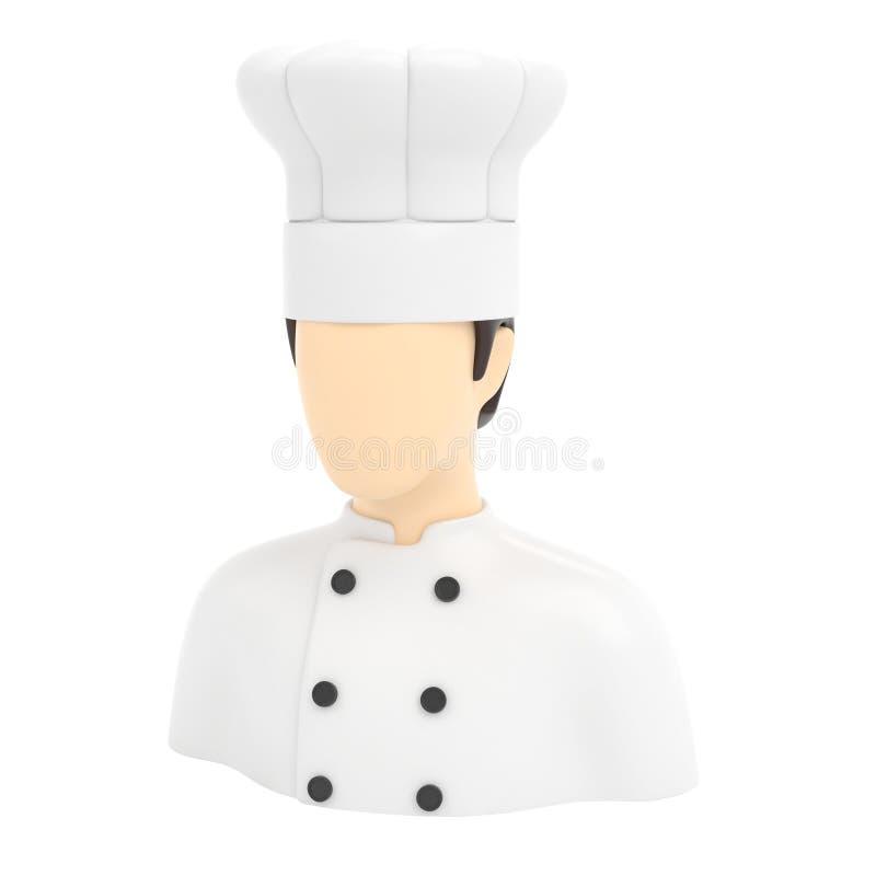 象厨师人 库存图片