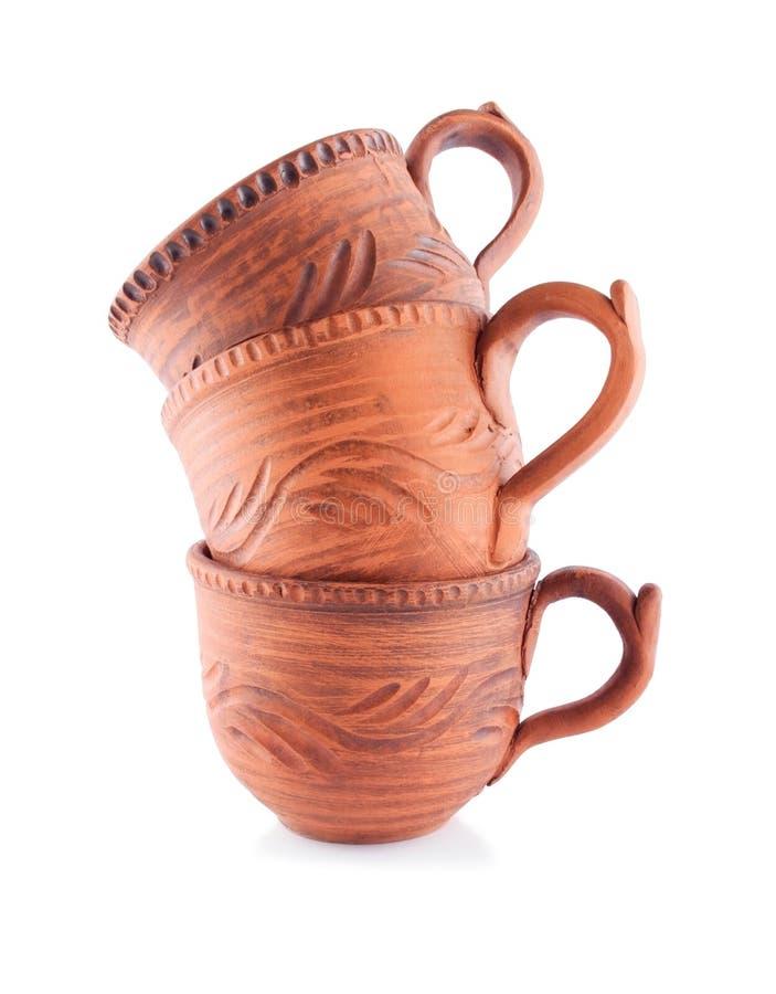 象家一样的陶瓷杯 免版税图库摄影
