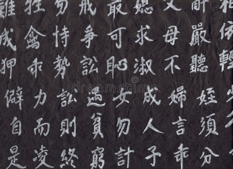 象形文字hight自然纸解决方法 库存照片