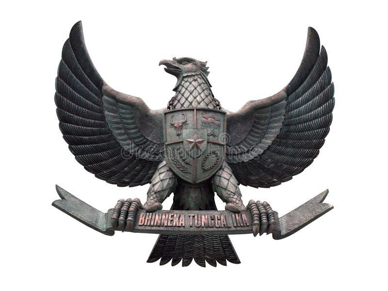 象征印度尼西亚国家s 免版税库存图片