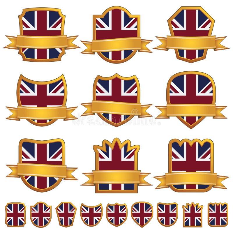象征英国 库存例证