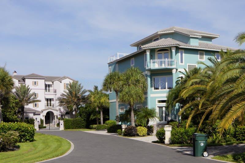豪华佛罗里达房地产 库存图片