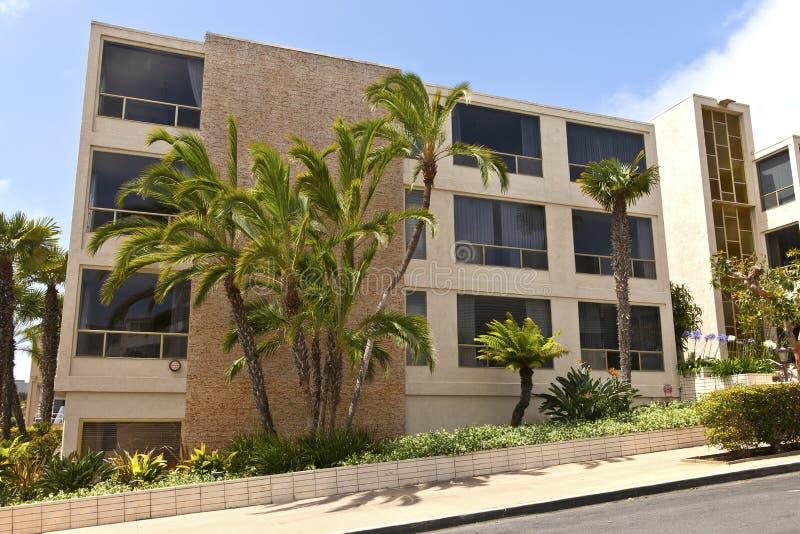 豪华公寓洛马角加利福尼亚。 免版税库存照片