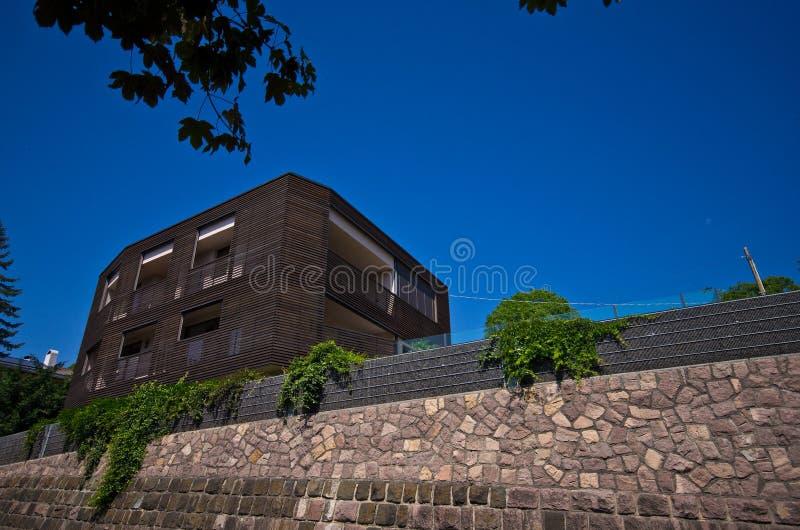 豪华房子在意大利 免版税库存照片