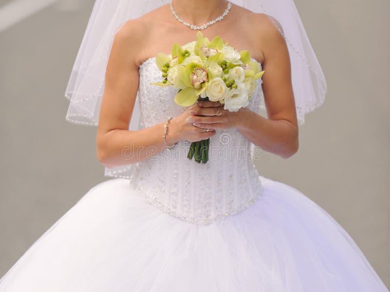 豪华新娘 免版税库存图片