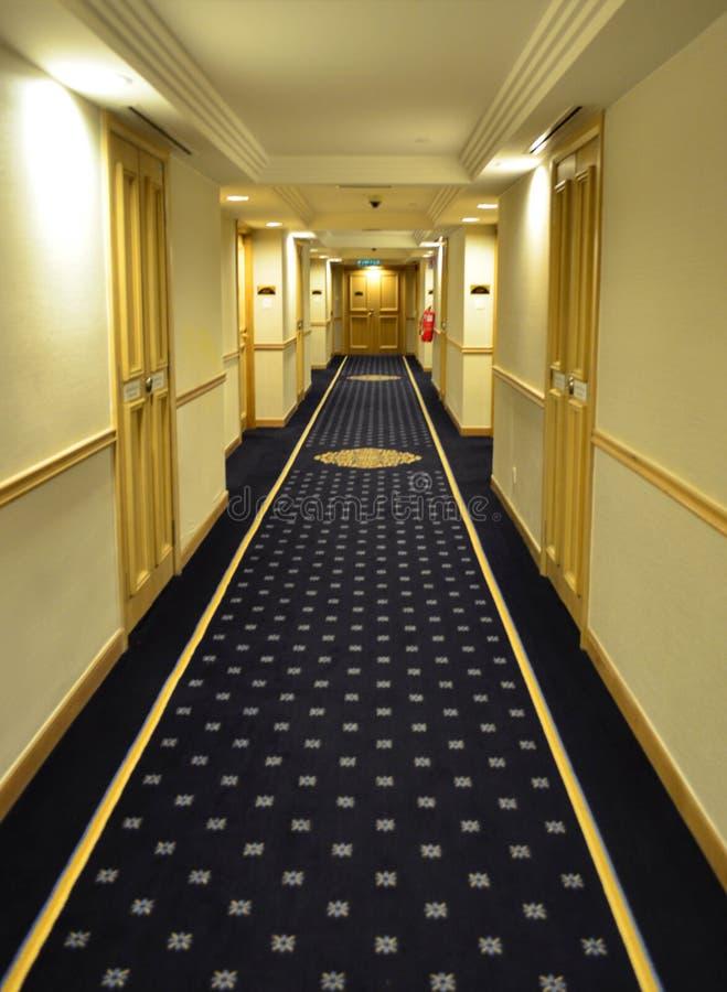 豪华旅馆走廊 库存图片