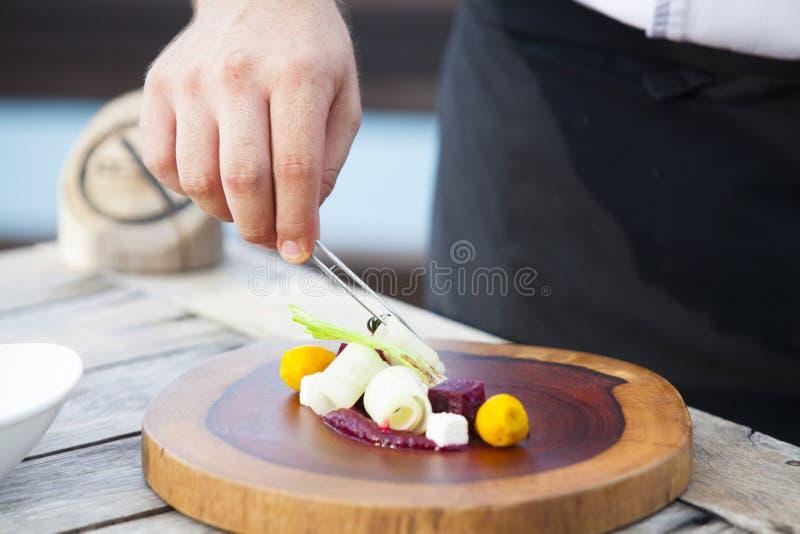豪华餐馆菜单 免版税库存照片