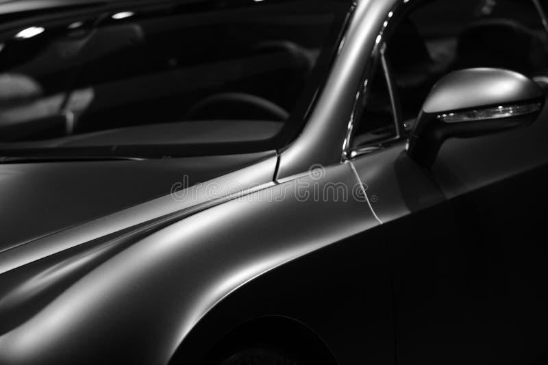豪华Bentley黑白的GT Mulliner 免版税库存图片