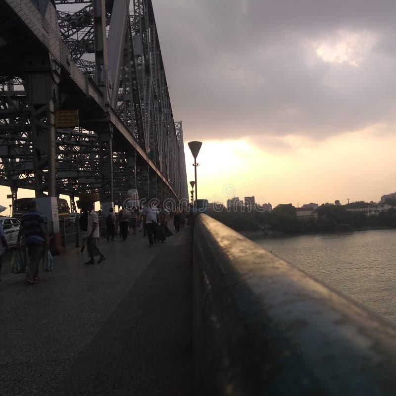 豪拉桥梁 免版税库存图片