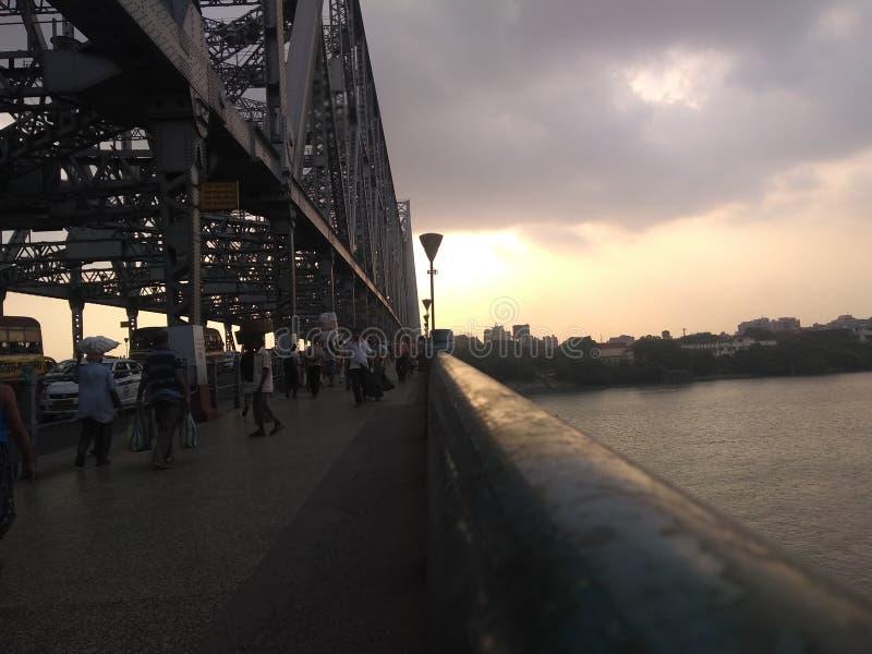 豪拉桥梁 免版税图库摄影