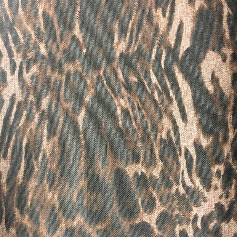 豹子印刷品物质织品样式背景 免版税库存图片