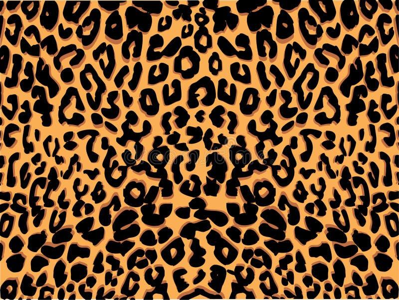 豹子模式打印 免版税库存照片