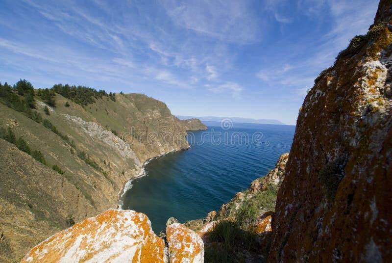 贝加尔湖露天场所 库存图片