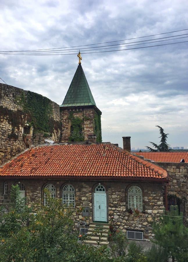 贝尔格莱德市建筑学,塞尔维亚 免版税库存照片