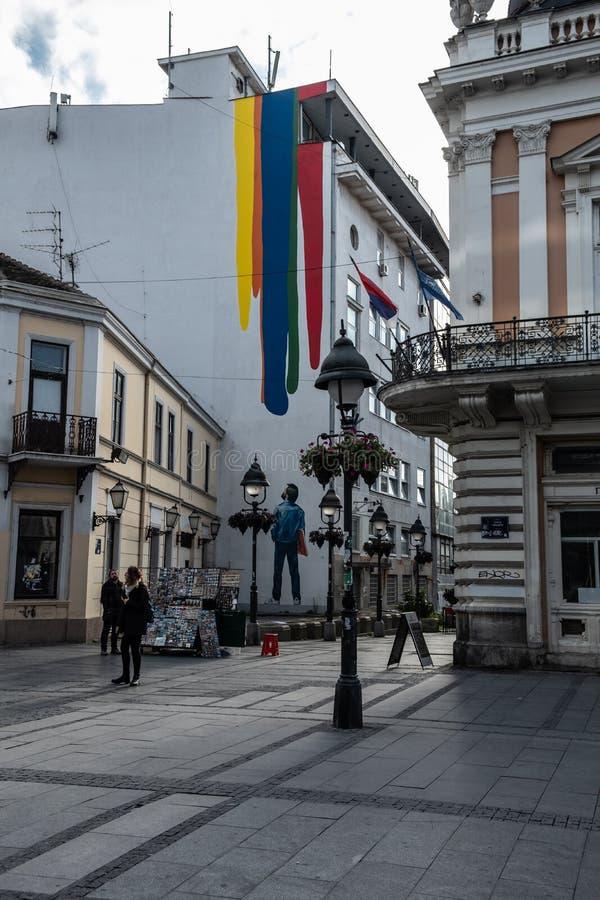 贝尔格莱德市 塞尔维亚 欧洲 库存照片