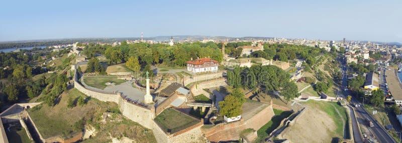 贝尔格莱德,塞尔维亚堡垒 库存照片