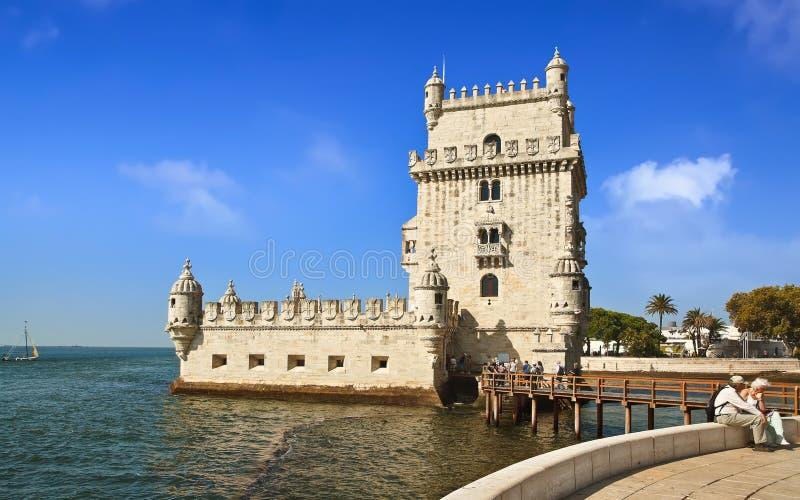 贝拉母塔在里斯本 免版税图库摄影